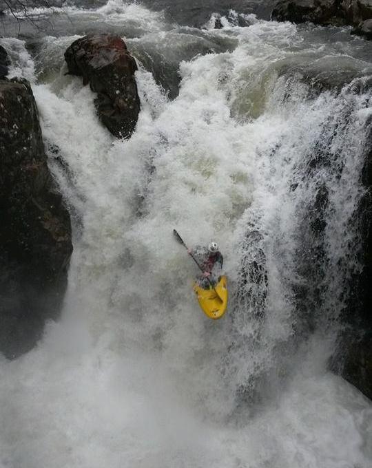 Pol Dubh Falls - River Nevis