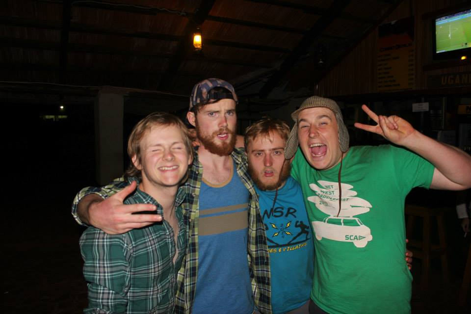 NRE Bar - Calum, Leslie, Jack, Roddy